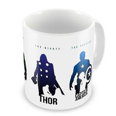 #Marvel avengers coffee / tea mug - iron man / hulk / thor / #captain #america,  View more on the LINK: 	http://www.zeppy.io/product/gb/2/321411415653/