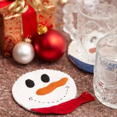 Snowman Coaster Craft