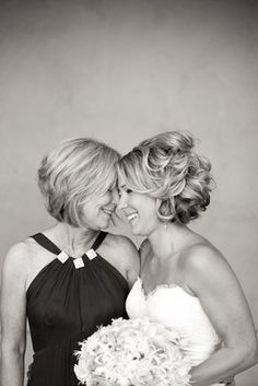 Cute mother/daughter pic.