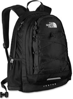 Northface backpack love the black jester….. and a monogram would be a nice touch :)