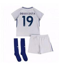 Chelsea Diego Costa 19 Bortaställ Barn 17-18 Kortärmad Chelsea, Eden Hazard, Trunks, Sweatpants, Swimwear, Tops, Costa, Fashion, Stems