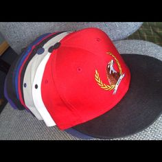 Some Of the Caps & SnapBacks we craft