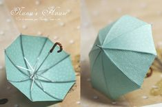 Miniature umbrellas :: intricately detailed and beautifully crafted