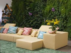 Modular seating Nap  MissoniHome new collection 2016