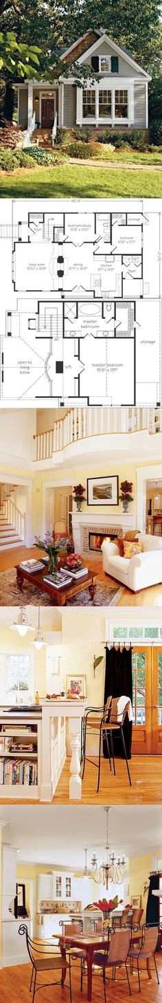 Beautiful Small House Floor Plan #inspiration #decor #floorplan
