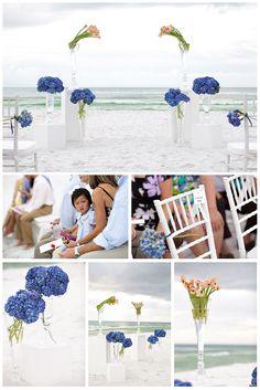 beach wedding. This is amazing