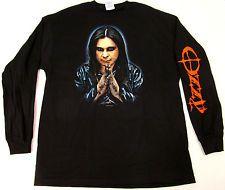 OZZY OSBOURNE PRAY FOR US Long Sleeve T-shirt Heavy Metal Tee Adult XL Black New Ozzy Osbourne, Heavy Metal, Pray, Fashion Outfits, Tees, Long Sleeve, Mens Tops, T Shirt, Shopping