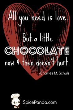 Chocolate Love – The Quotable Food Series