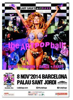 LADY GAGA, the ARTPOP ball, Barcelona 2014