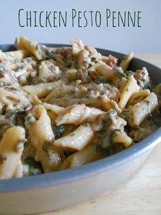Chicken Pesto Penne