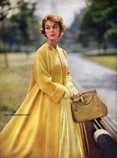 Jean Patchett, 1953. Why don't we have jackets like this anymore?!?!