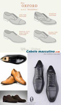 02f864e55 Conheça de uma vez por todas os tipos de sapatos masculinos e aprenda como  usá-los em cada ocasião!