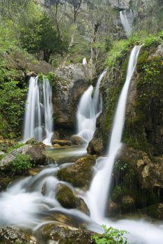 Nacimiento del Río Mundo Riopar. Albacete  Spain