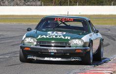 Jaguar 'Big Cat' at Bathurst. Motor Sport, Sport Cars, Race Cars, Australian Muscle Cars, Aussie Muscle Cars, Touring, Jaguar V12, The Great Race, Xjr