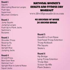 women day workout