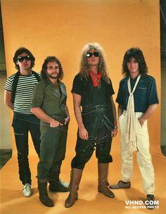 Rare Photo of Van Halen @ 1981