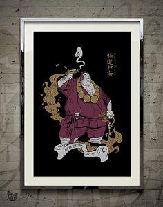 Buddha Gangster Art    https://www.etsy.com/listing/188645960/buddha-gangster-finest-quality-art