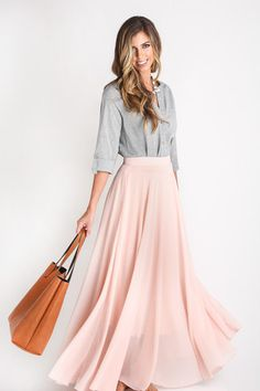 Pink Full Maxi skirt, Morning Lavender, cute shoot ideas, outfit ideas, staple piece