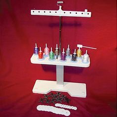 10 Spool Thread Stand Grey Embroidery Thread Online Craft Store Craft Supplies
