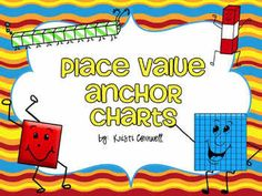 Here's a set of 6 place value anchor chart posters. Half-size posters cover place value, standard form, expanded form, and word form. Full size posters cover comparing numbers and ordering numbers.