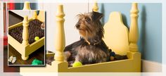 Four Poster Dog Bed From Scratch via Lowes