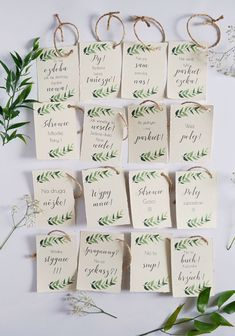 DIY Papeteria ślubna • origamifrog.pl Spring Wedding, Boho Wedding, Rustic Wedding, Wedding Table Decorations, Wedding Seating, Perfect Wedding, Place Cards, Marriage, Wedding Inspiration