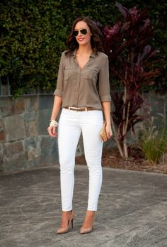 39 Simple Work Outfits To Look Flawless 😅 39 Simple Work Outfits To Look Flawless – Trendy Fashion Ideas. Simple Work Outfits, Cute Spring Outfits, Classy Outfits, Stylish Outfits, Trajes Business Casual, Business Casual Outfits, Office Outfits, Work Fashion, Trendy Fashion
