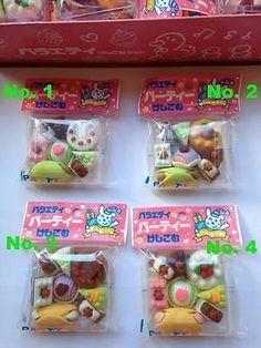 Dream-Japanese-Puzzle-Rubber-Erasers-Set-Cream-Cakes-Food-Novelty-Dessert-Iwako