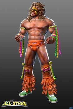 Ultimate Warrior=wrestling icon