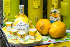 Italian Limoncello Recipe: How To Make the Authentic Kind Your Foodie Friends Will Love! Authentic Limoncello Recipe, Italian Limoncello Recipe, Making Limoncello, Homemade Limoncello, Martini Recipes, Drinks Alcohol Recipes, Yummy Drinks, Cocktail Recipes, Cocktails