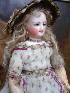 Wonderful antique BRU Mona Lisa french fashion.