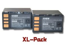 vhbw 2x Akku Set 2100mAh (7.2V) für Camcorder JVC GR-D720, GR-D720EX, GR-D725, GR-D740, GR-D740EX, GR-D745, GR-D750, GR-D760 wie BN-VF823, BN-VF823U. - http://kameras-kaufen.de/vhbw/2x-akku-sparset-vhbw-akku-2100mah-7-2v-fuer-jvc-gr-gr