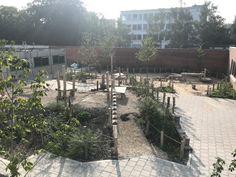 Foto's Primary School, Playground, Patio, Adventure, Landscape, Outdoor Decor, Plants, Seeds, Children Playground