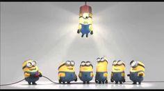 Happy Birthday Greeting from Minions . Banana Song For universal use ; Minions Happy Birthday Song, Minions Singing, Happy Birthday Song Youtube, Happy Birthday Kind, Happy Birthday Video, Birthday Songs, Birthday Wishes, Funny Birthday, Gif Minion