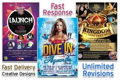 design eye catching Bespoke Flyer,Brochure Poster