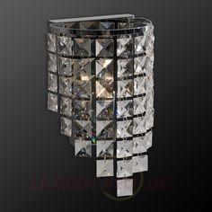 Wandleuchte Julieta mit Kristallbehang 5028005