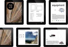 Nous iPad Magazine on Behance
