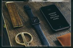 3 Free iWatch Mock-ups