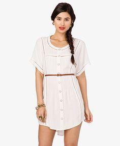Belted Shirtdress | FOREVER21 - 2038109995