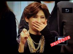 Hyunseung laughing