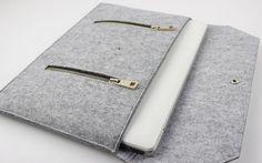 "6 colors - Felt Macbook felt case Macbook case 17 Macbook case 17inch sleeve Macbook sleeve case Macbook sleeve 17"" Macbook holder SJ602"