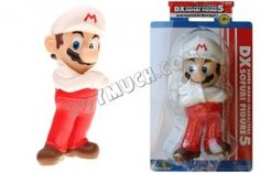 Mario 9 inch PVC Figure with Arms Crossed, White Hat (in box)