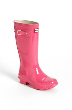 6bad1976b2fb9 Hunter  Original Gloss  Rain Boot (Little Kid   Big Kid)