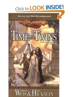 Time of the Twins: Dragonlance Legends, Volume I: Margaret Weis, Tracy Hickman: 9780786918041: Amazon.com: Books