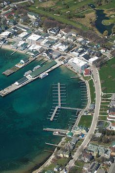 Mackinac Island Docks