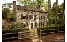 FARMHOUSE – vintage early american farmhouse in bucks county, sponsored by lisa james otto country properties.