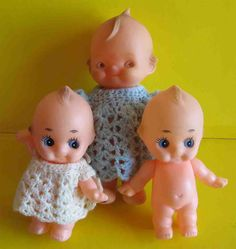Image detail for -BIG DOLL HEIGHT - 210 mm & SMALL DOLLS - 145 mm. Kewpie, Creepy Dolls, Doll Patterns, Tweety, Dollhouse Miniatures, Doll Clothes, Knitting, Toys, Crochet