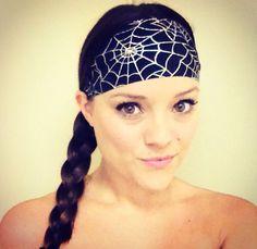 Spiderwebs headband! www.hippierunner.com