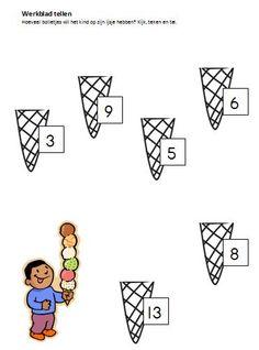 ijsjes tellen