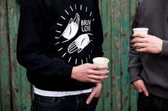 Brother Cycles: Bruv Luv Sweatshirt - PROLLY IS NOT PROBABLY #sweater #cycling